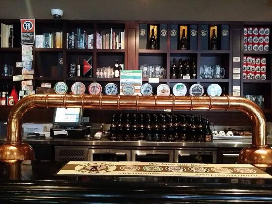 Potters Hotel & Brewery: The beers