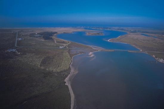 Mar Chiquita, Argentina: Vista aerea