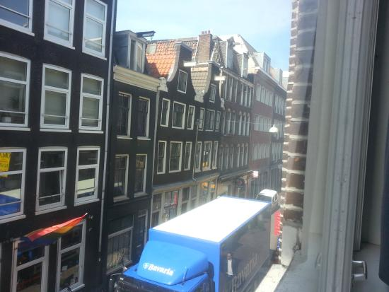 Amsterdam Hostel Uptown: view from first room