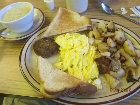 Jimmy's Boulevard Restaurant: breakfast