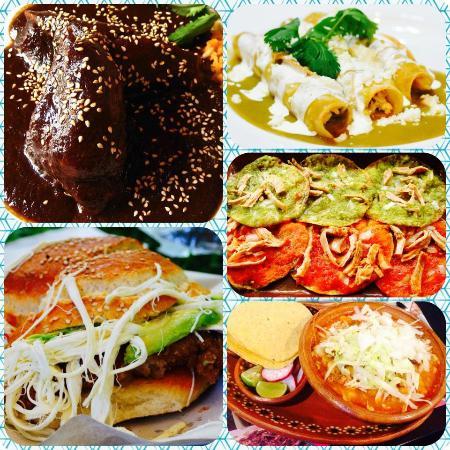 Foto de Lo Nuestro, Puebla: Mole poblano, enchiladas verdes, chalupas,  cemitas y pozole. - Tripadvisor
