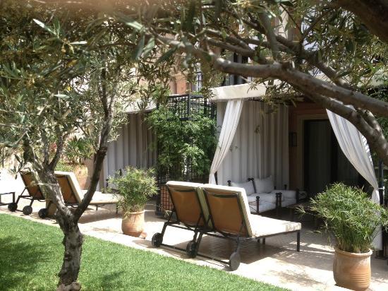 Jardin de la mini suite picture of les jardins de la for Jardin koutoubia