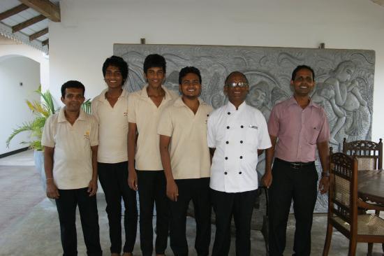 Suite Lanka: Das Hotel-Team