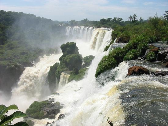 Cataratas del Iguazú: Cataratas do Iguaçu - lado argentino