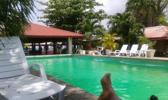 Sandy Point Village: Chilling by the pool