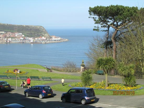 Mansion House Scarborough: view from bay window