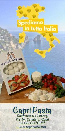 Capri Pasta: Ravioli Capresi in Tutta Italia