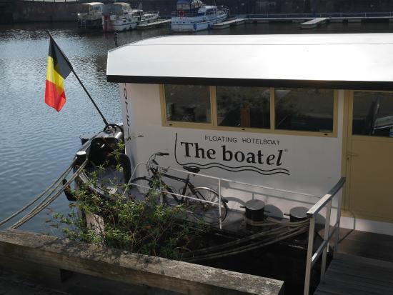 Hotel the Boatel: l'accueil