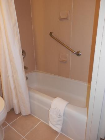 Hilton Garden Inn Burlington: Nice, clean bath