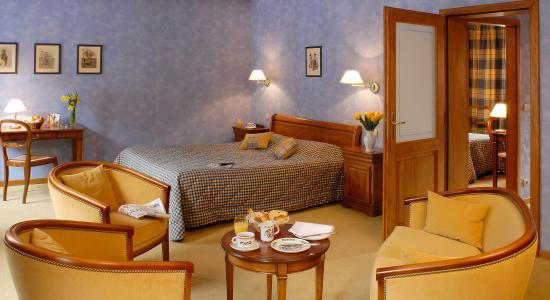 Hotel l'Abbaye d'Alspach: Suite familiale1