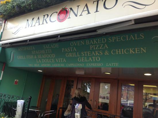 outside marconato picture of marconato hoddesdon