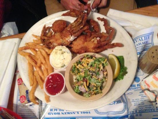 Beach Pub Fried Soft Shell Crabs