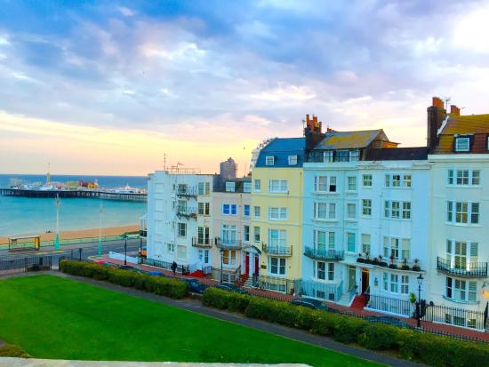 View from the manhattan penthouse suite picture of sea for Boutique hotels just outside london