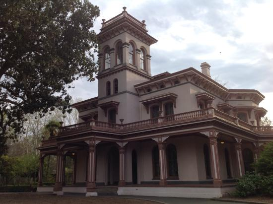 The Bidwell Mansion, exterior