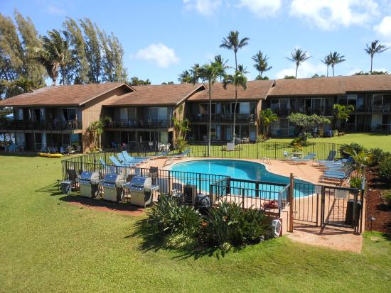Polynesian Shores: Pool and north side