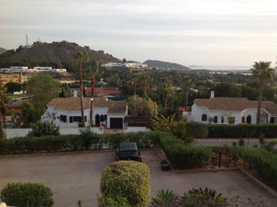 La Manga Club: View from apartment balcony