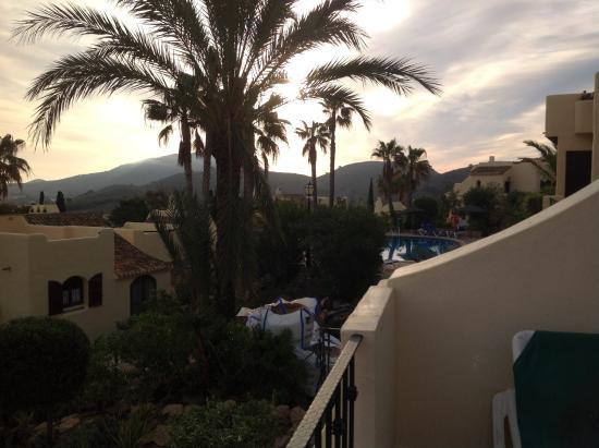La Manga Club: View from balcony