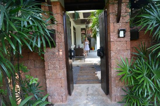 Melati Beach Resort & Spa: The entrance to your own villa... How cool is that