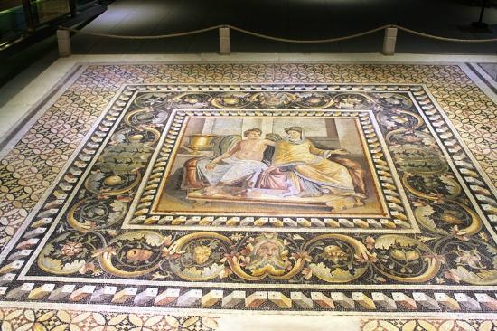 Mosaic wall panel - Picture of Zeugma Mozaik Muzesi ...