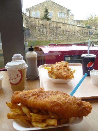 Bizzie Lizzie's - Swadford Street: Overlooking the canal