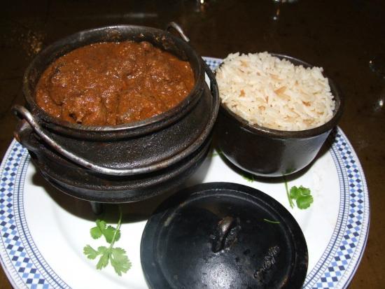 Gooderson Tropicana Hotel: Mutton Durbon Curry at Ushaka