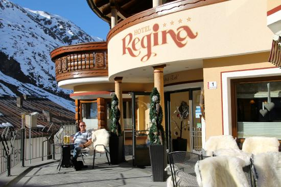 Hotel Regina: A beer on the terrace!