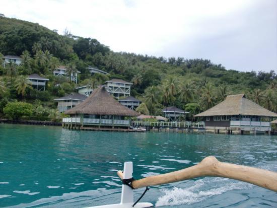 Faanui, Polynésie française : Our bungalow