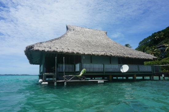 Faanui, Polinesia Francesa: Overwater bungalow