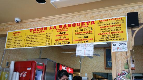 Tacos La Banqueta Puro D F