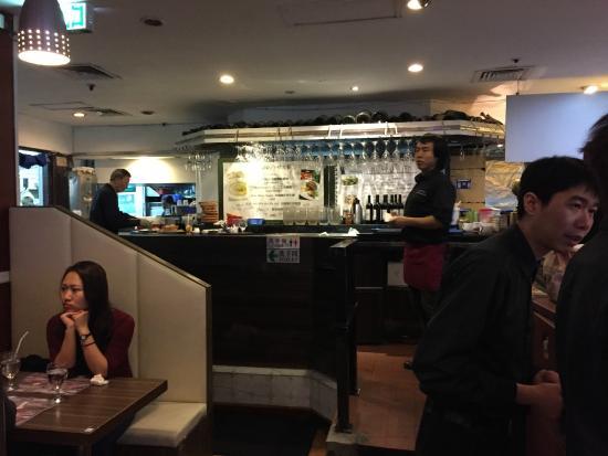 San Diego Hotel Hongkong: ambiente do bar do restaurante