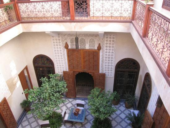 Musee de l'Art de Vivre Marocain: The central courtyard