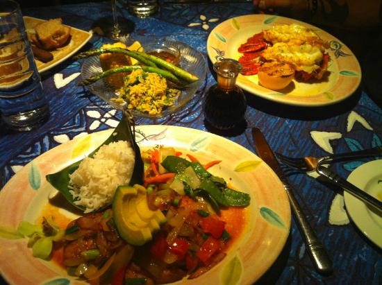 Paia, HI: The Tristan Lobster Tails & The Upcountry Style Opakapaka