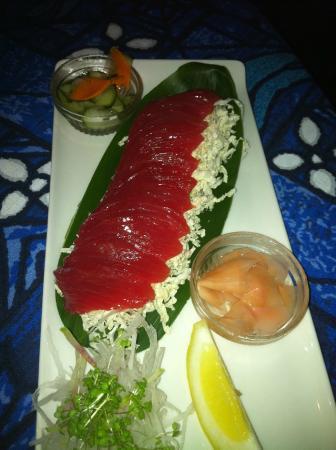 Paia, Hawái: The mouthwatering Sashimi
