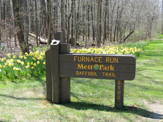 Richfield, OH: Entrance to Daffodil Trail