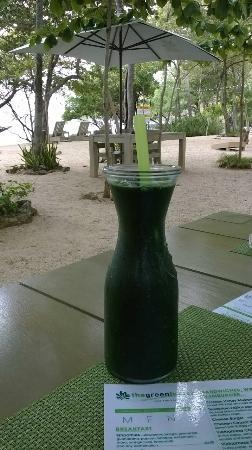 The Green House Restaurant: Batido verde