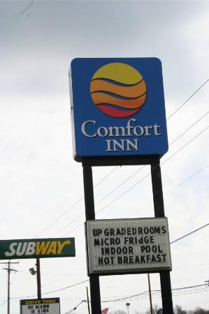 Quality Inn Cedar Point: Sign
