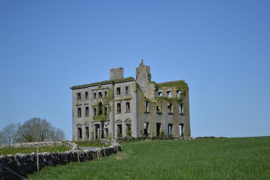 Kilcolgan, Ierland: South-side of house