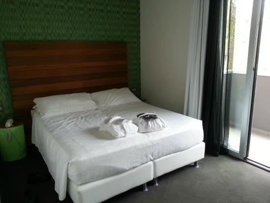 Q Hotel: camera