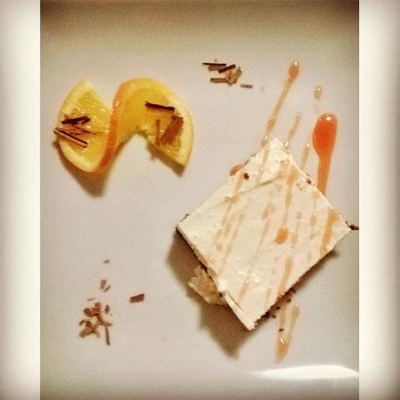 La Risacca : cheesecake agli agrumi (capodanno)