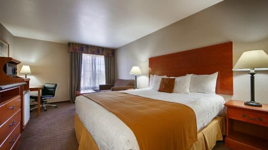 Best Western Plus Twin View Inn & Suites: Standarnd King Bed