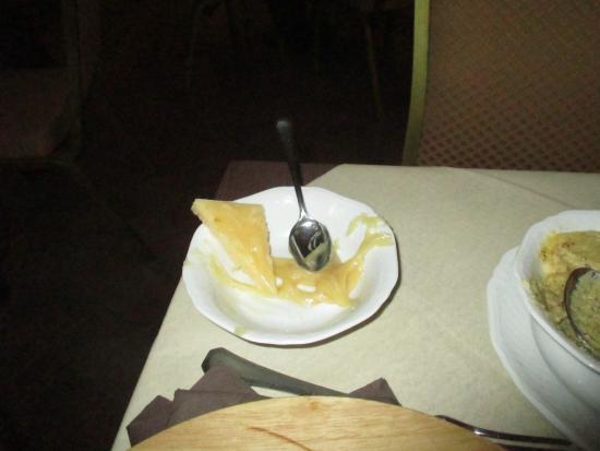 Osteria del Pievano: Assaggio miele e formaggio
