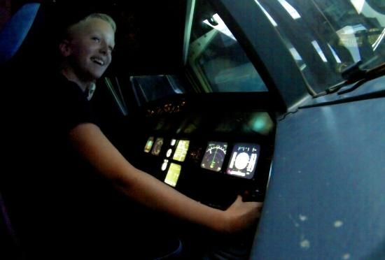 Coventry, UK: Flying the A320 simulator