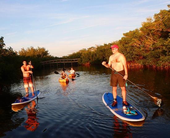 Surfit: Golden hour while on tour at Ted Sperling Park Sarasota FL