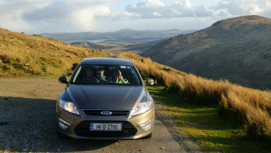 Knockboy and Priest's Leap : On the road