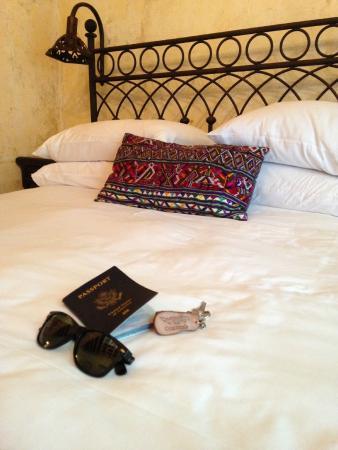 Meson Panza Verde: hotel room