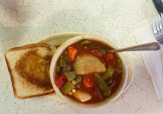 Lindsay, Τέξας: Vegetable beef soup