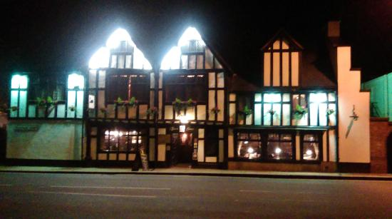 The Black Swan: Front of the Pub