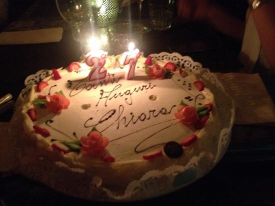 Buzzi: Torta di compleanno