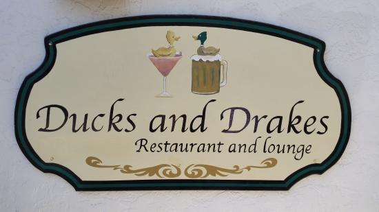 Ducks and Drakes: Ducks & Drakes Sign