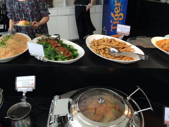 Singapore Seafood Republic Ginza: ビュッフェカウンター